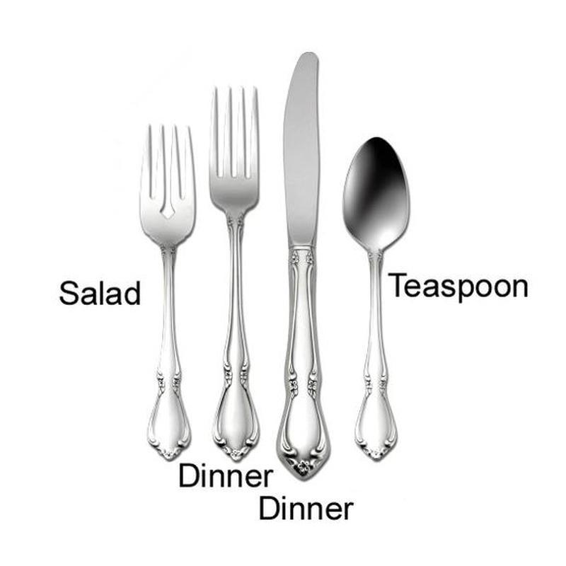 Chateau Stainless Steel Tableware Flatware Rental